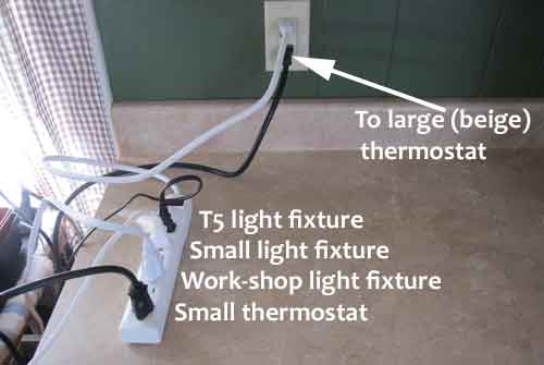 electrical surge protector for thermostats