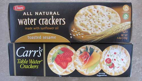 carrs water crackers